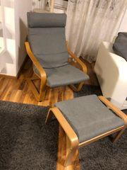 poäng schwing-Sessel von Ikea