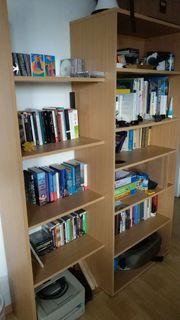 Großes Bücherregal Wandregal 80x195 140x195