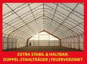 Maschinenhalle Lagerzelt Industriehalle 15 25