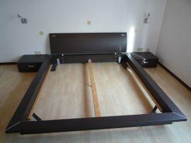 Bett 180 x 200 cm + 2 Nachttische - Nolte Luxus Design - Doppelbett Schlafzimmer