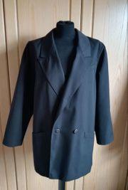 Damen Sommer Jacke schwarz Gr