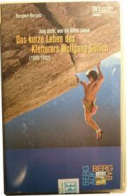 VHS Kletterfilm Jung stirbt wen