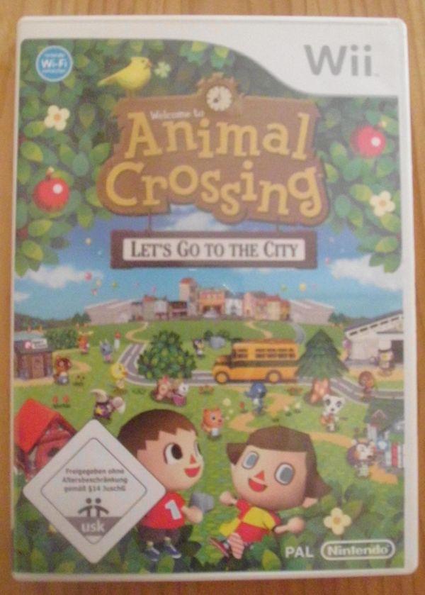 WII Spiel ANIMAL CROSSING Lets