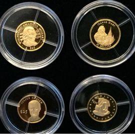 Gold Münzen Sammlung