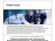 Software-Entwickler mit Schwerpunkt Anwendungsentwicklung An