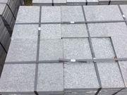 Platten Granitgrau 40x40x3 cm - ca