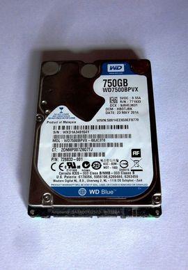 Zubehör für tragbare Computer - Interne 2 5 -Festplatte WD