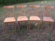 4 Stühle IKEA Ingolf leicht