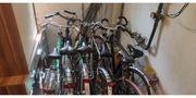 5 Fahrräder teils fahrbereit teils