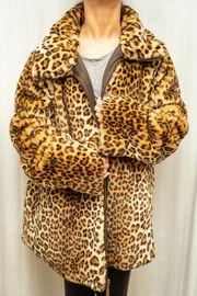 Dennis Basso Faux Fur Leopard