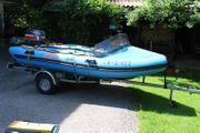 Schlauchboot Zephyr-3 6 mit Außenbordmotor