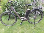 E-Bike mit tiefem Einstieg in