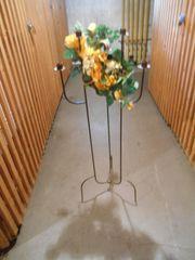metallener Kerzenständer