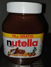 825 g Glas Nutella NEU