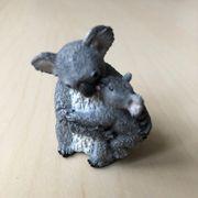 SCHLEICH Koalabärin mit Jungem 14677
