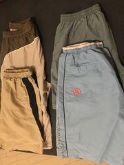 4 kurze Hosen für Herren