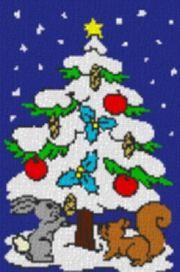 Vorlage für Ministeck Weihnachtsbaum mit