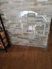 Glasunterplatte für Holzofen