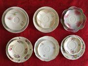 6 Set Geschirr Porzellan Sammeltassen