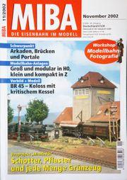 Miba-Die Eisenbahn im Modell November
