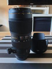 Sigma EX 70-200 mm 1