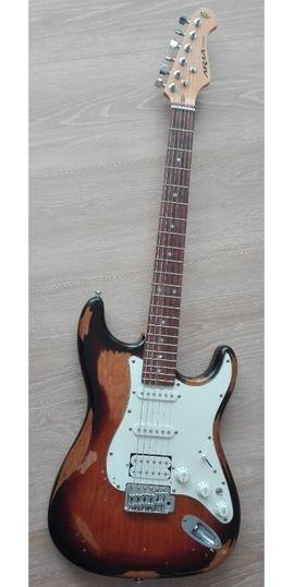 Gitarren/-zubehör - E-Gitarre Aria STG-Series 50th Anniversary