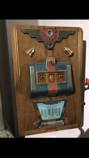 Ich suche uralte Geldspielautomaten und