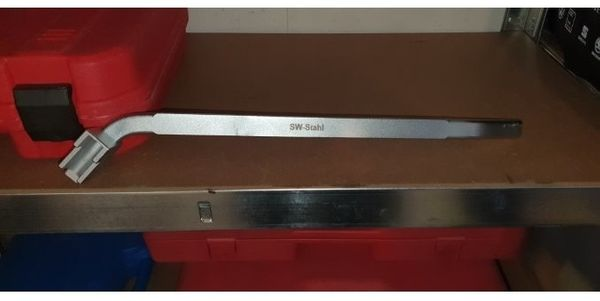 Spannrollenschlüssel für Keilrippenriemen umsteckbar VAG