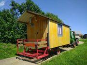 Bauwagen Tinyhouse Zirkuswagen Oldtimertreffen Traktoranhänger