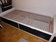 IKEA-Bett FLAXA 90x200 mit zwei