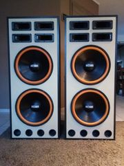 2 Musikboxen 2x 500 Watt
