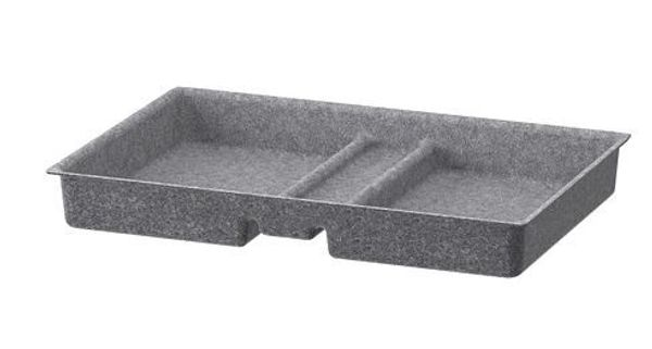 Ikea Schubladeneinlagen BESTA grau