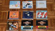 9 Kinder-CDs Die wilden Fußballkerle