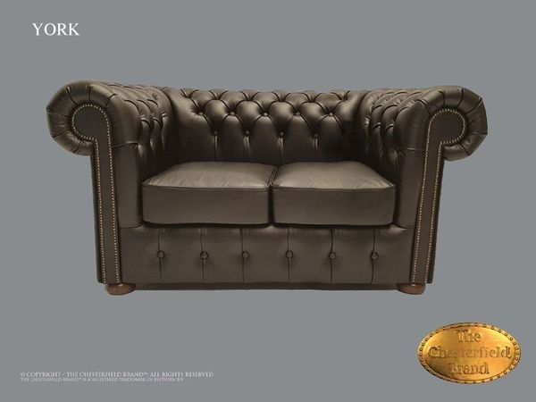 York Chesterfield 2 Sitzer Sofa