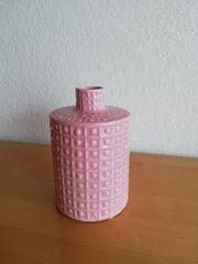 VASE Porzellan rosa Deko