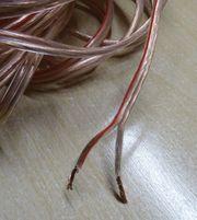 Lautsprecherkabel Kupfer 2x1 5mm mit