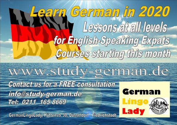 Deutsch- und Englischunterricht German and