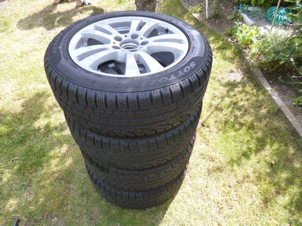 4 Winterreifen Pirelli auf Rial