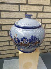 punschtopf rumtopf bowle keramik deckel