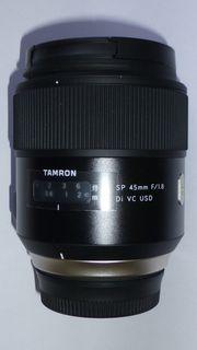 TAMRON SP 45mm 1 8