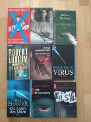 diverse Bücher Roman Thriller