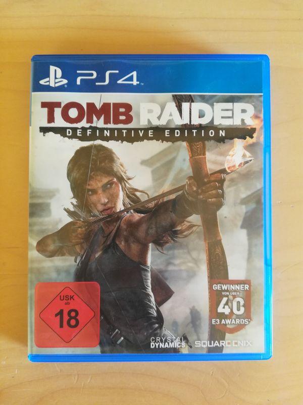 Tomb Raider Definite Edition PS4
