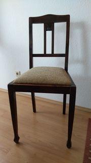Alter Stuhl sehr wahrscheinlich Jugendstil