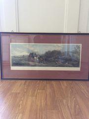 Gemälde Jagdszene
