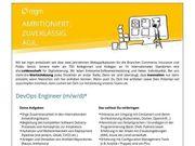 DevOps Engineer m w d