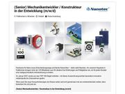 Senior Mechanikentwickler Konstrukteur in der