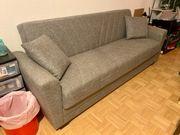 Wohnzimmer Couch Schlaf Sofa ausziehbar