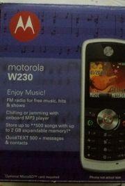 Motorola W230 Zubehör