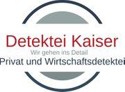 Detektiv Bundesweit zu fairen Preisen