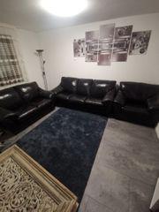Echtleder Sofa Sofas 3-2-1